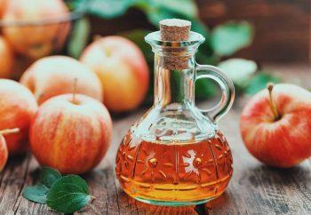 Apples and cider vinegar